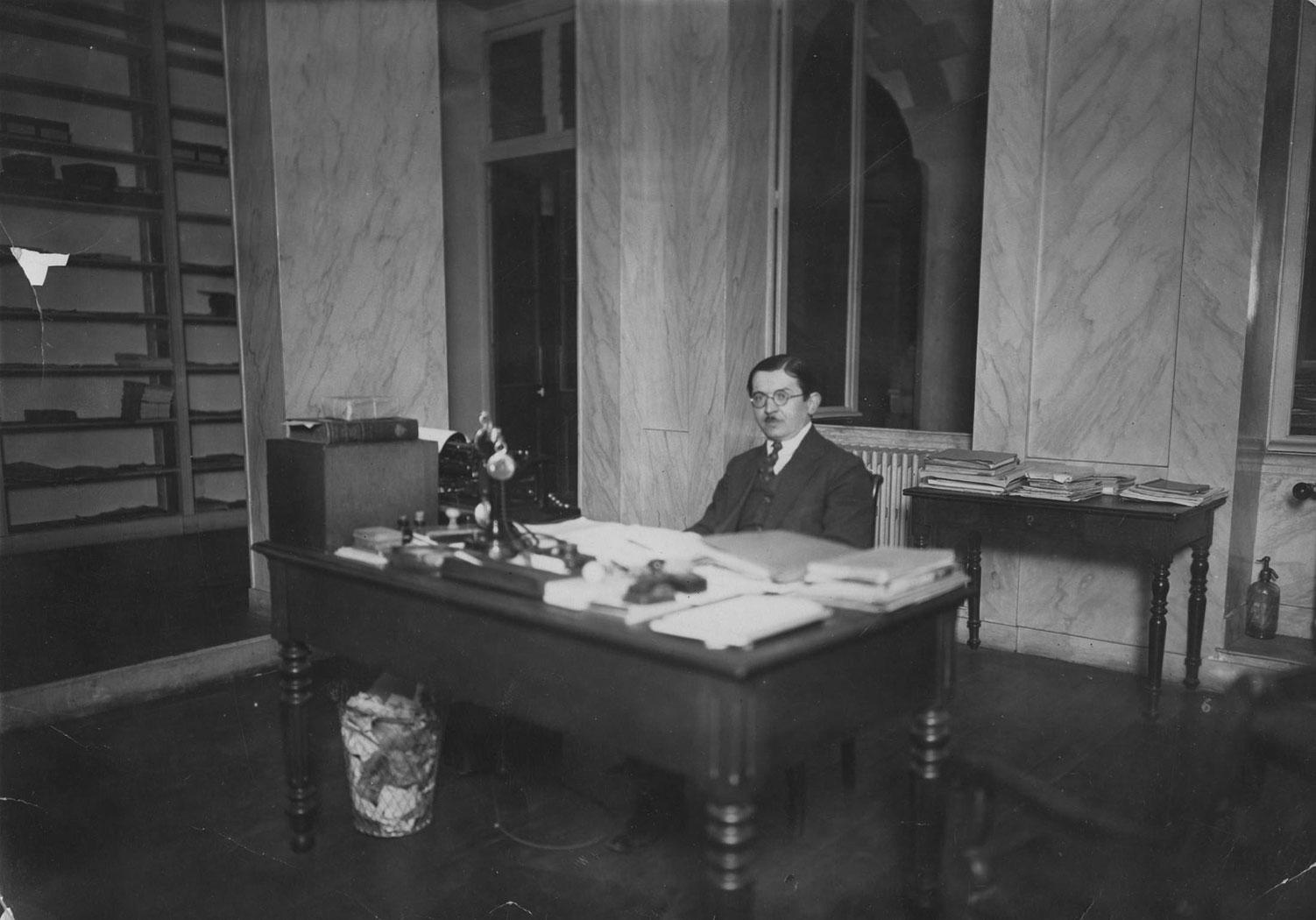 Piotr Koczorowski w Paryżu