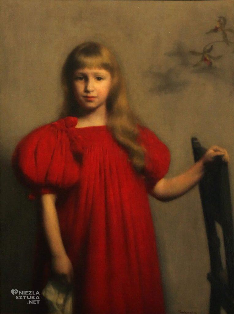 3a. Portret Józi Oderfeldówny (przyszłej żony W. Olszewicza) pędzla Józefa Pankiewicza.